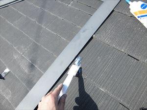 屋根破損個所修復後