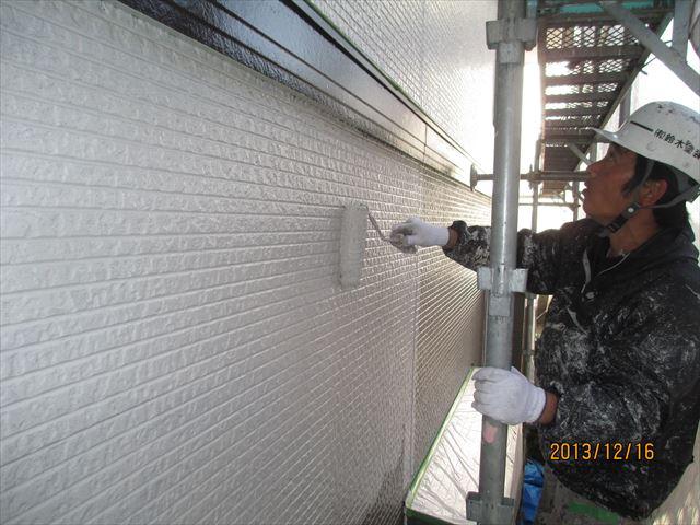 外壁中塗りアステック無機ハイブリッド