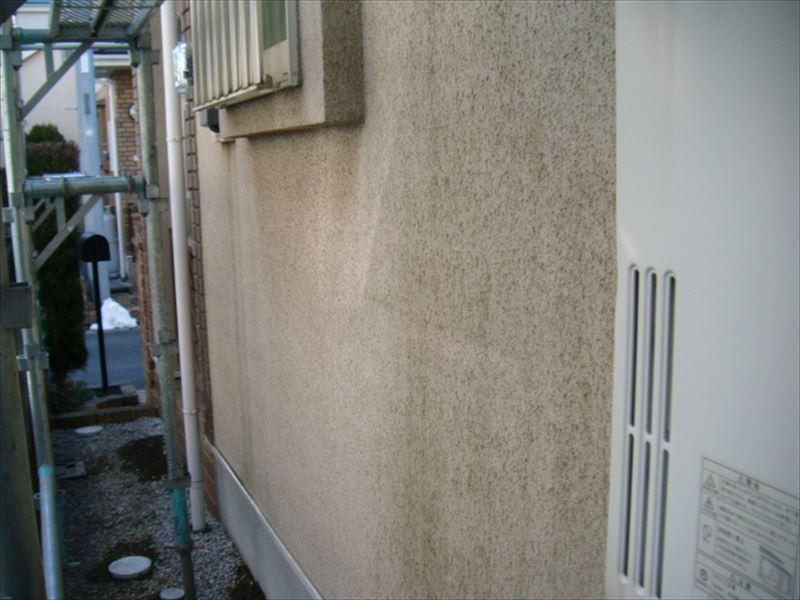 壁の汚れ1