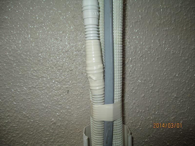 エアコン配管