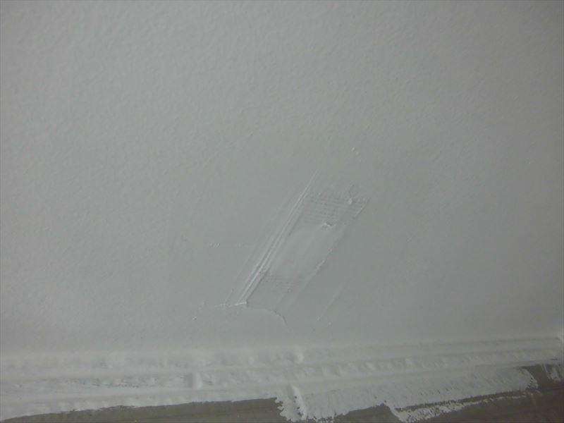 軒天穴補修