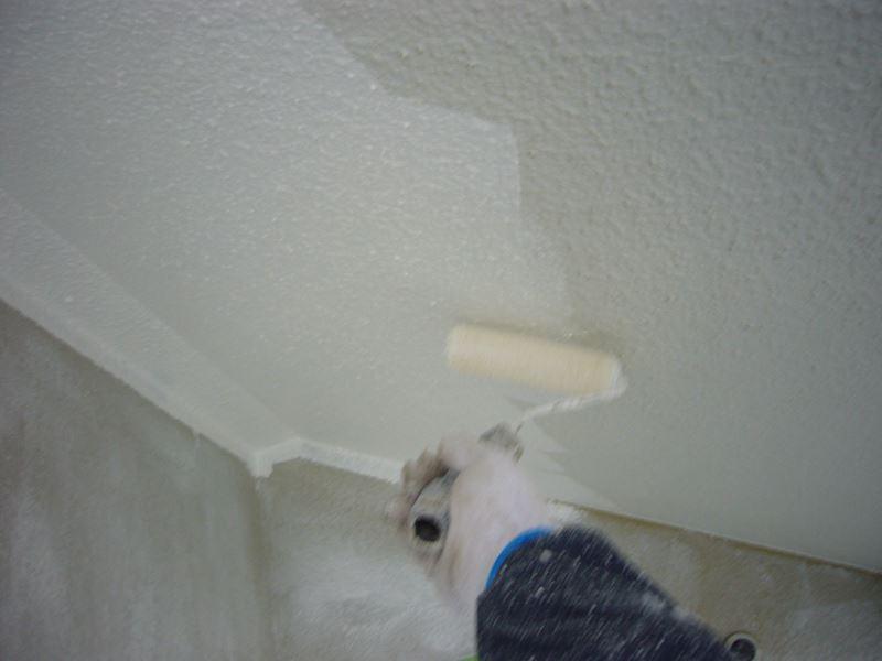 モルタル外壁塗装下塗り