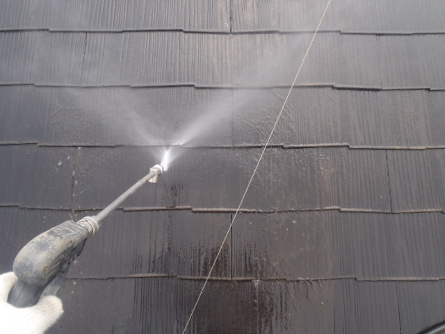 鴻巣市 屋根洗浄