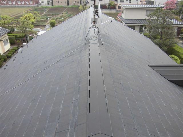 鴻巣市 屋根洗浄前