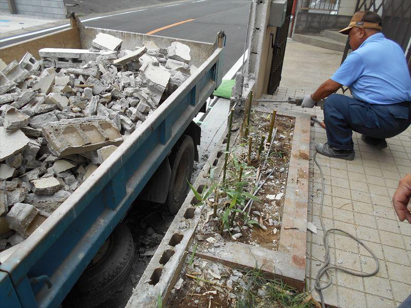 門塀工事解体