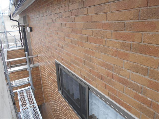 外壁北側「無機ハイブリットクリヤー」で塗装完了