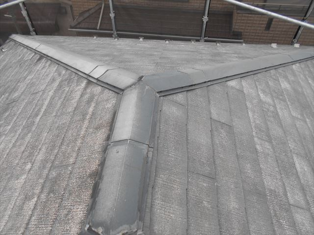 屋根洗浄後・トタン補修