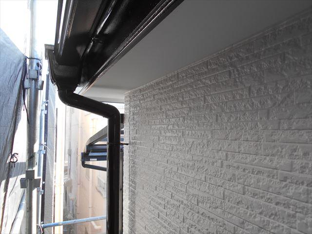 外壁塗り替え完了サイディング