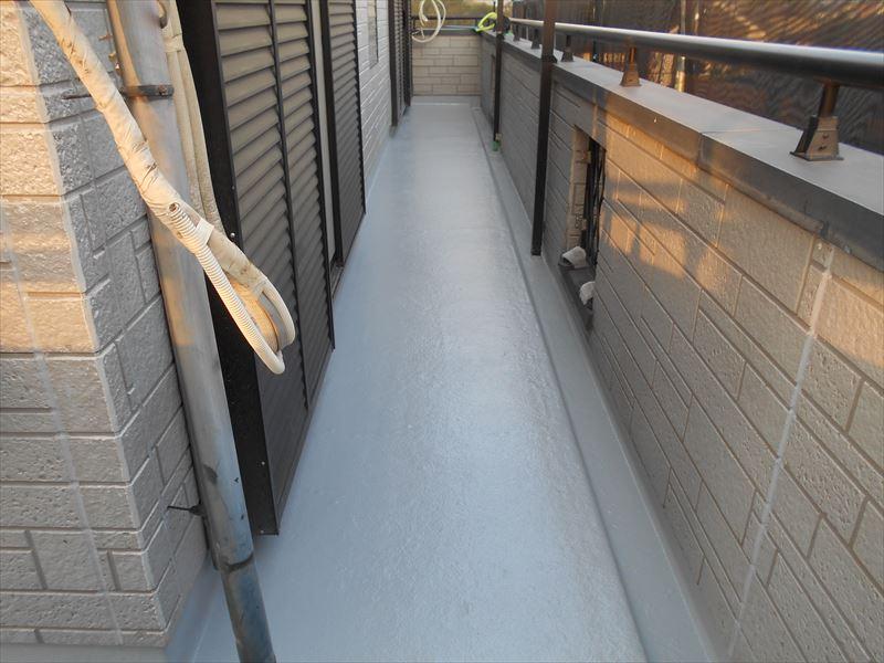 FRP防水塗装完了