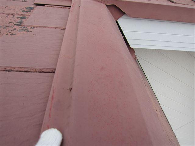平板瓦の釘の浮き1