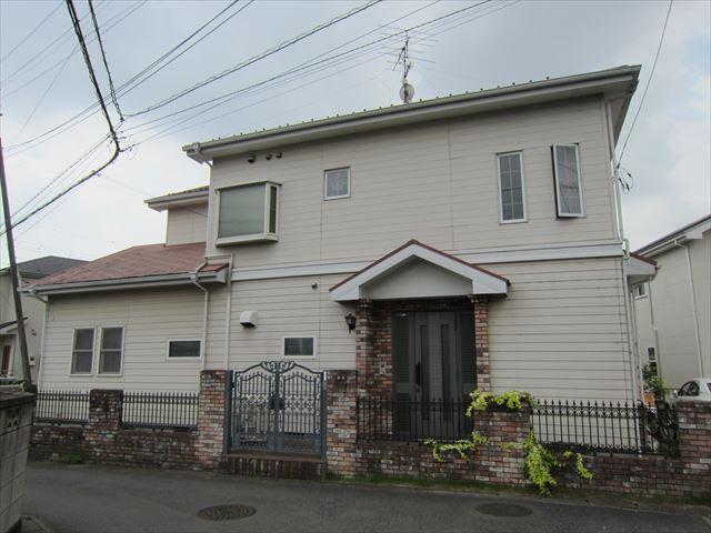 白岡外壁屋根塗装前