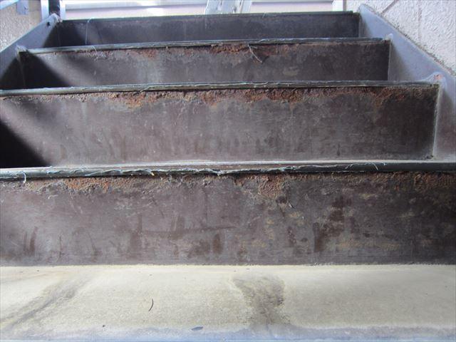 白岡市マンション 階段点検