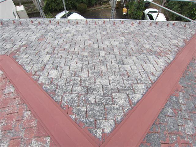 高圧洗浄後のスレート瓦屋根1