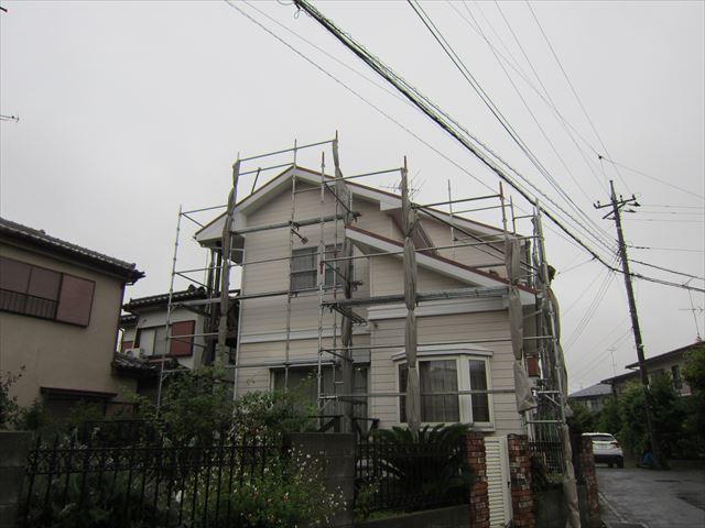 台風前の足場4