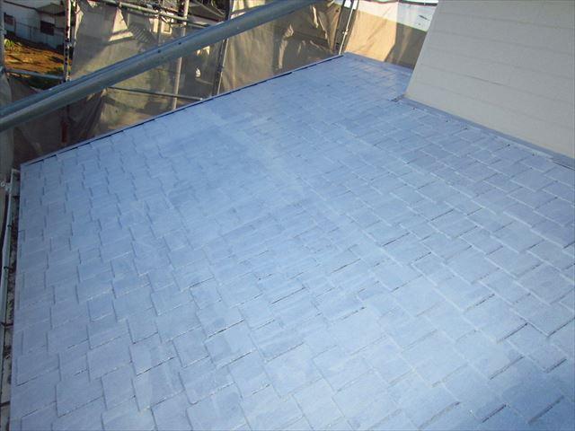 下屋根下塗り3
