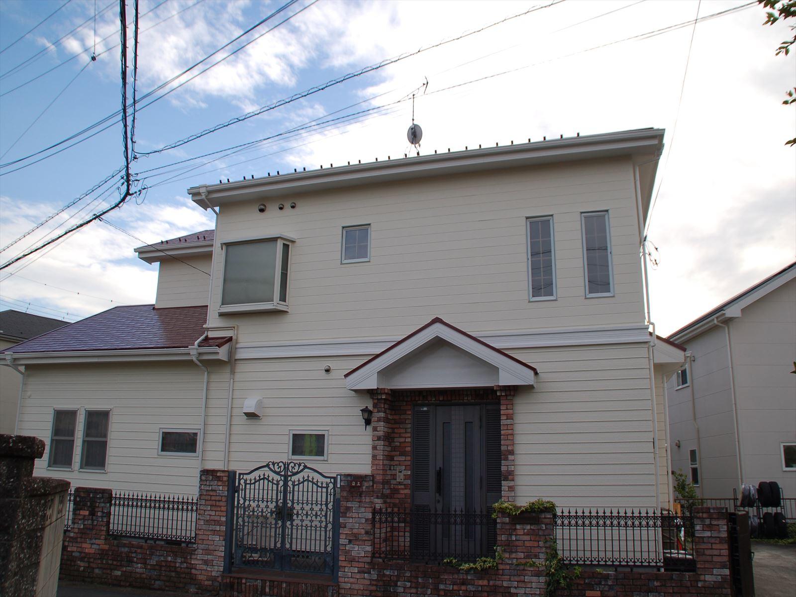 白岡外壁屋根塗装後