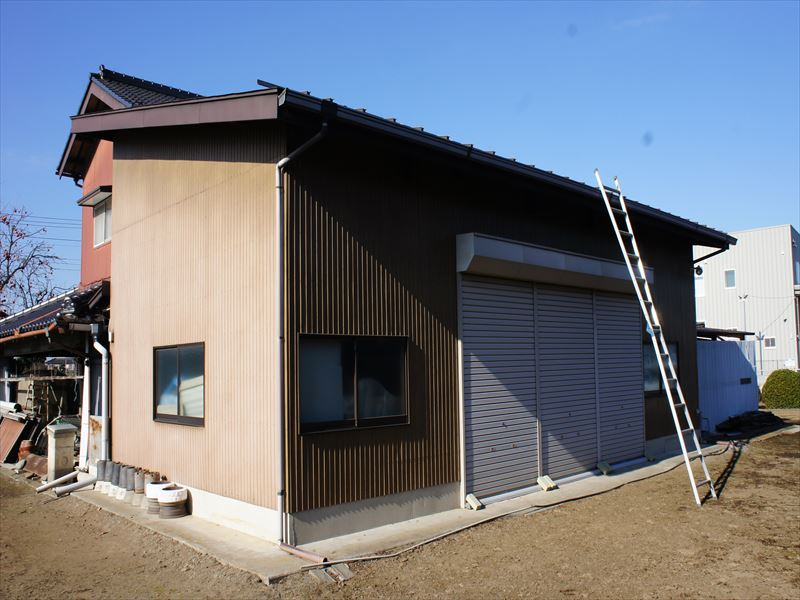 施工前倉庫