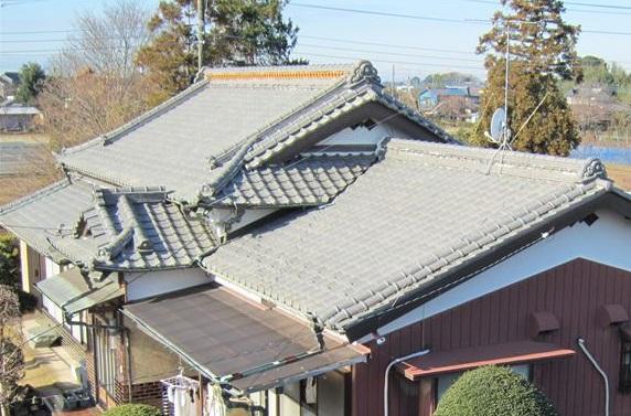 日本瓦屋根2
