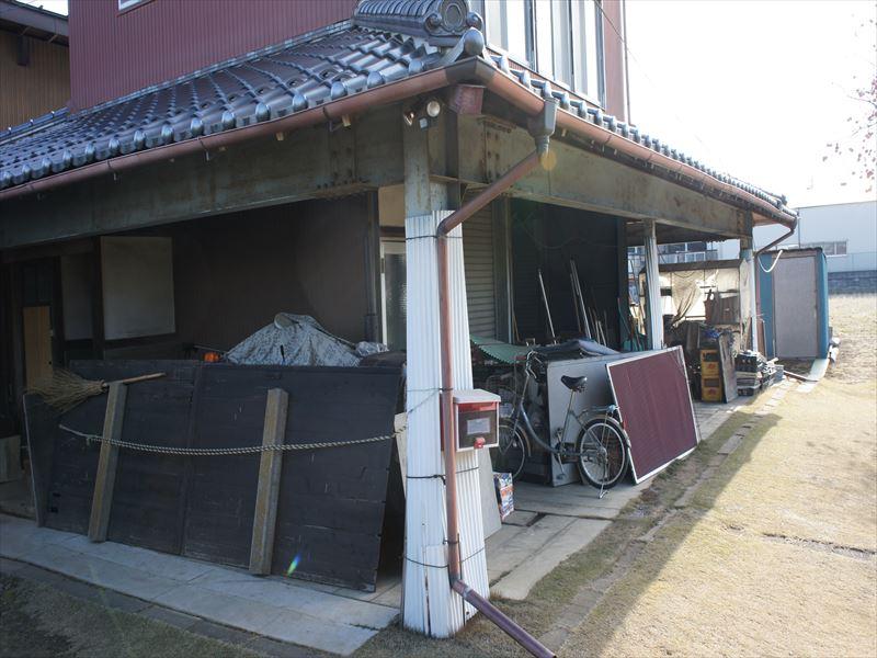 工事前倉庫