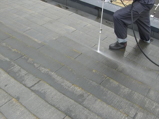 蓮田市 屋根洗浄