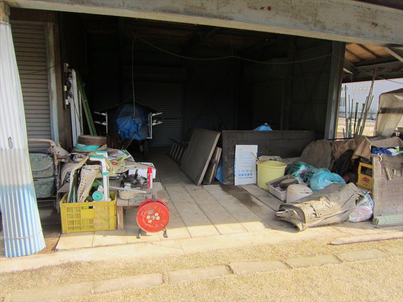 倉庫の整理