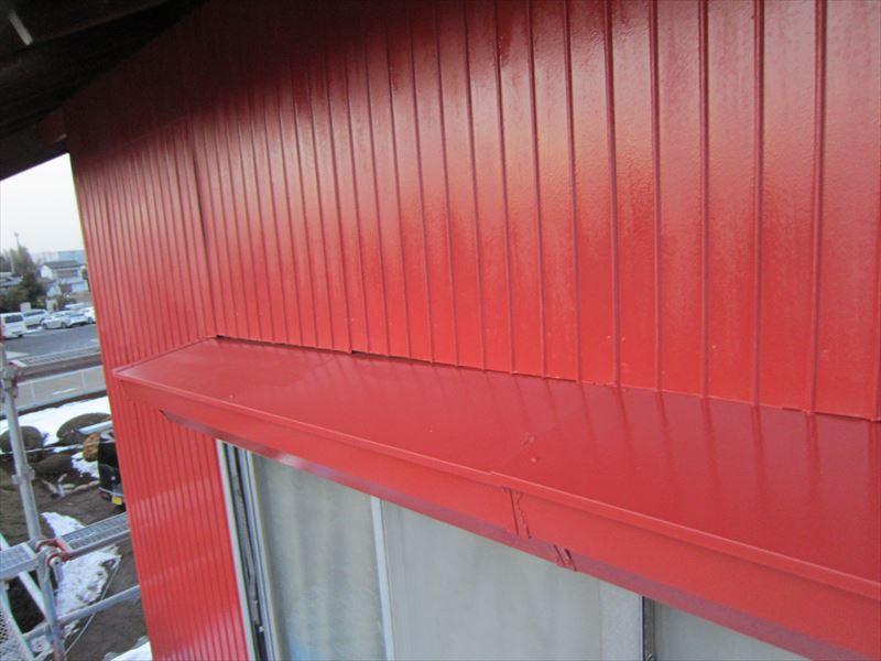 トタン外壁下塗り2度め2