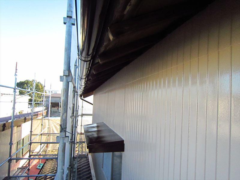 トタン外壁塗装完了