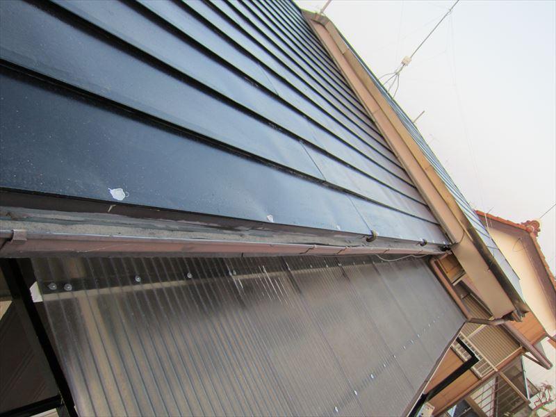 屋根釘浮き補修2