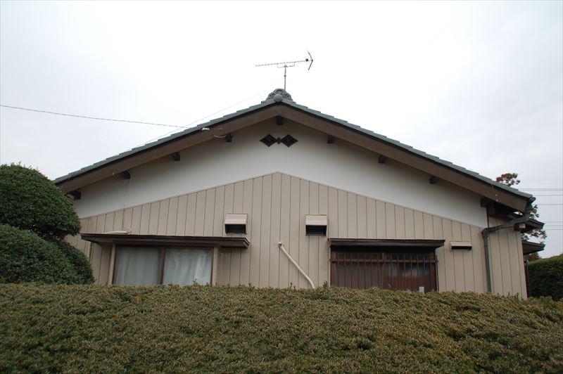 塗装後の家3