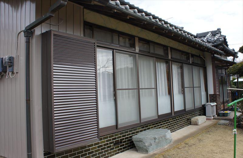 塗装後の家1