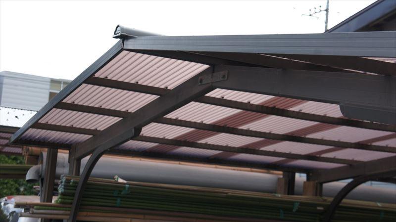カーポート屋根張り替え完成2