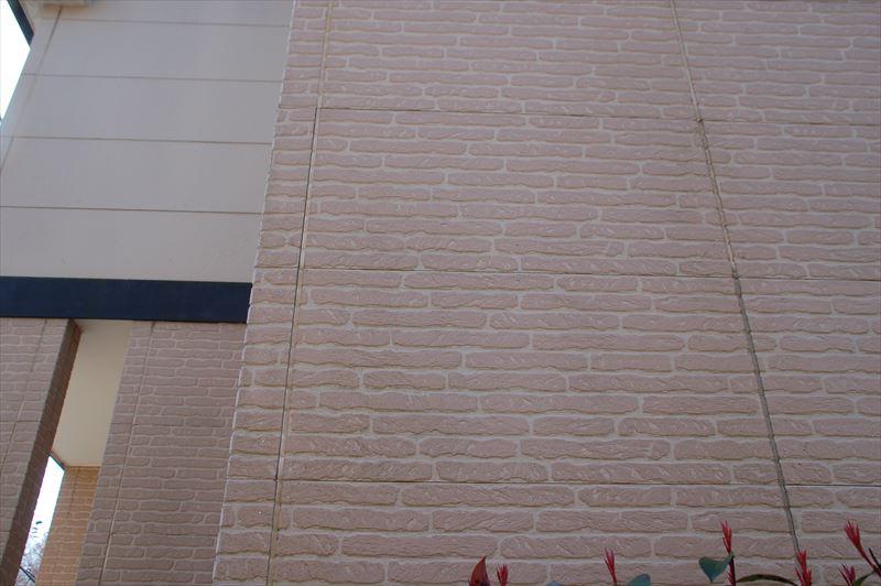 壁全体のコーキングの劣化