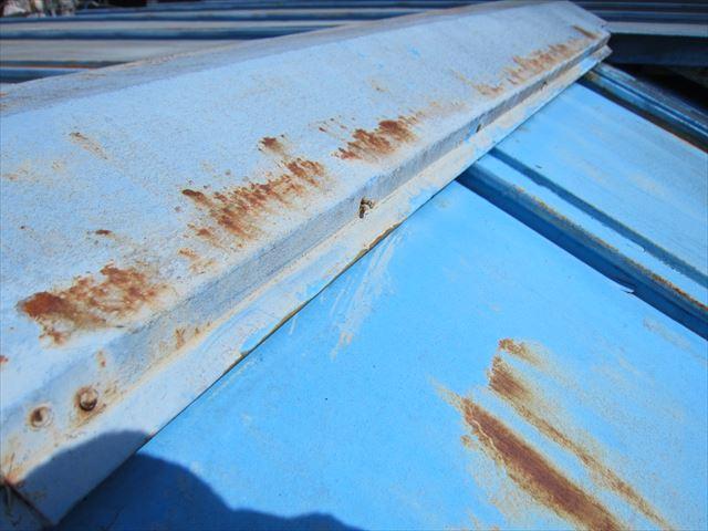 トタン屋根棟包み