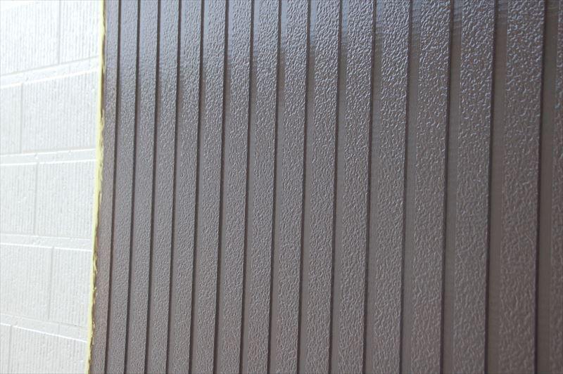 外壁中塗り終了