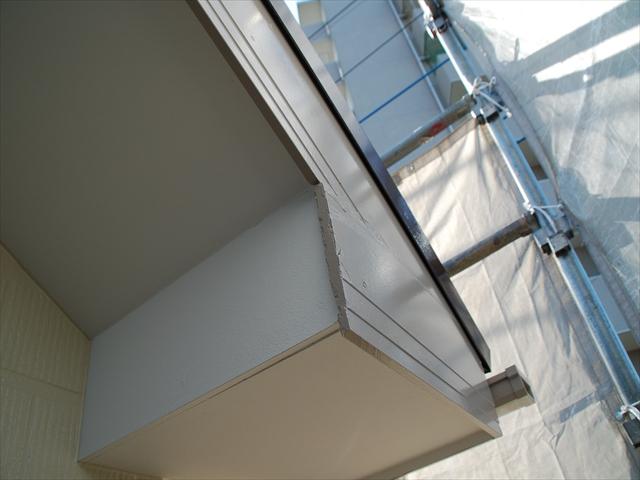 久喜市破風板塗装