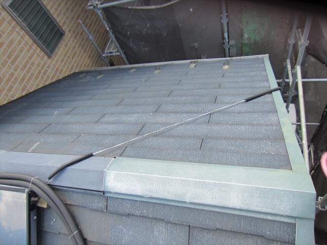 洗浄後の屋根2