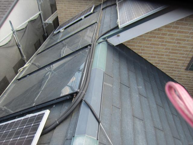 洗浄後の屋根3