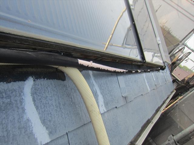 太陽熱温水器ホース劣化