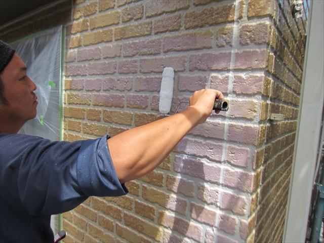 外壁上塗り無機塗料クリヤー白濁