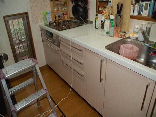 キッチン清掃2