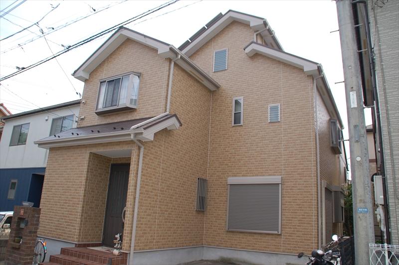 上尾原市塗装後家全体写真