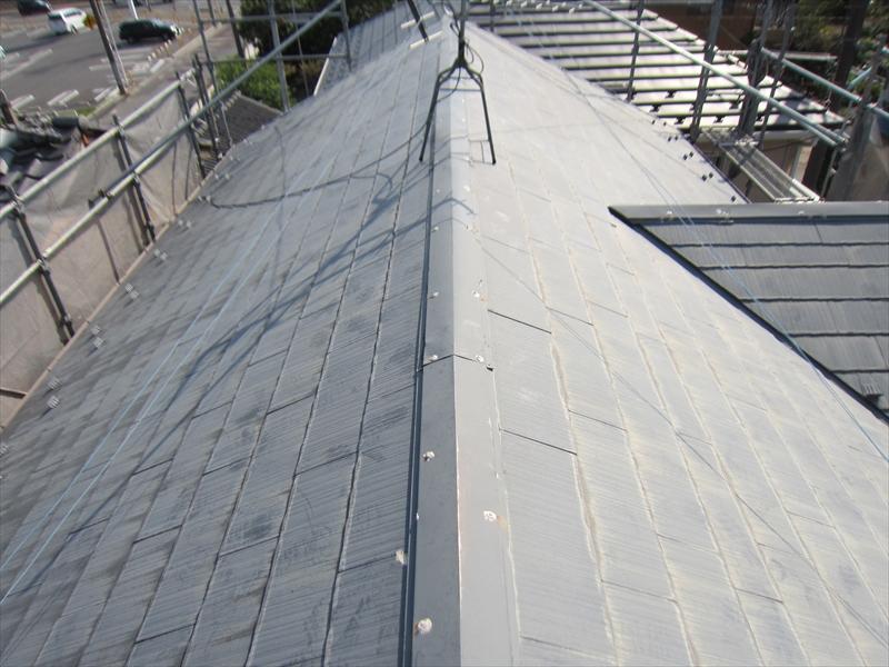 さいたま市見沼区のスレート屋根補修2