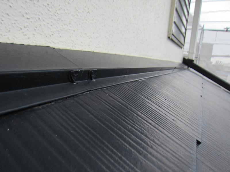 白岡スレート屋根釘浮き補修後2