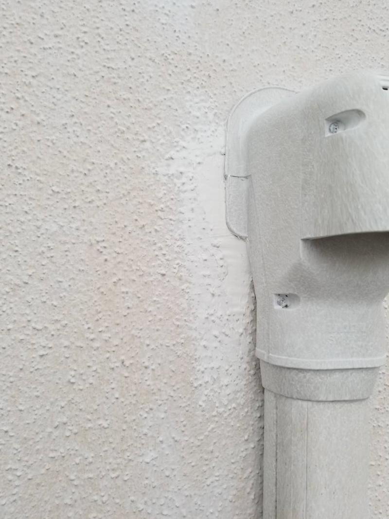 外壁のキズ補修後