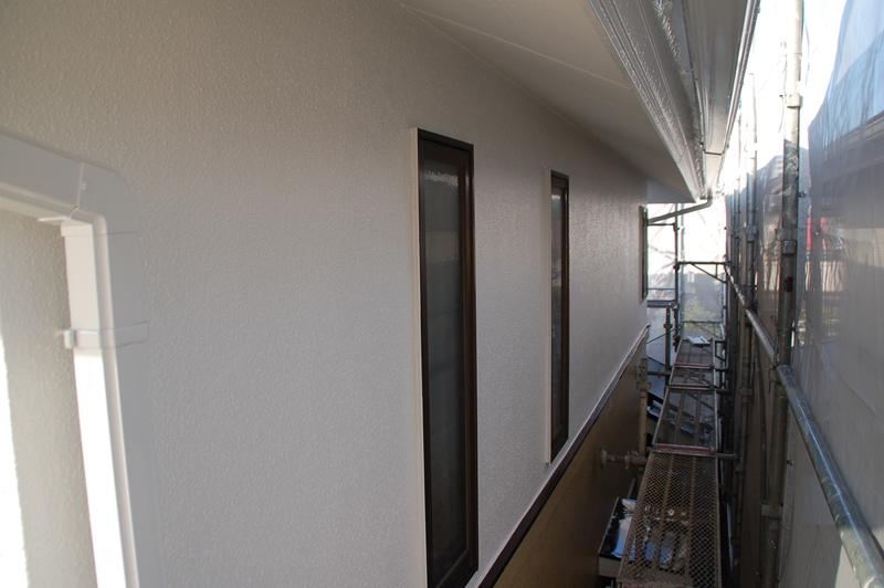仕上げ塗り・外壁