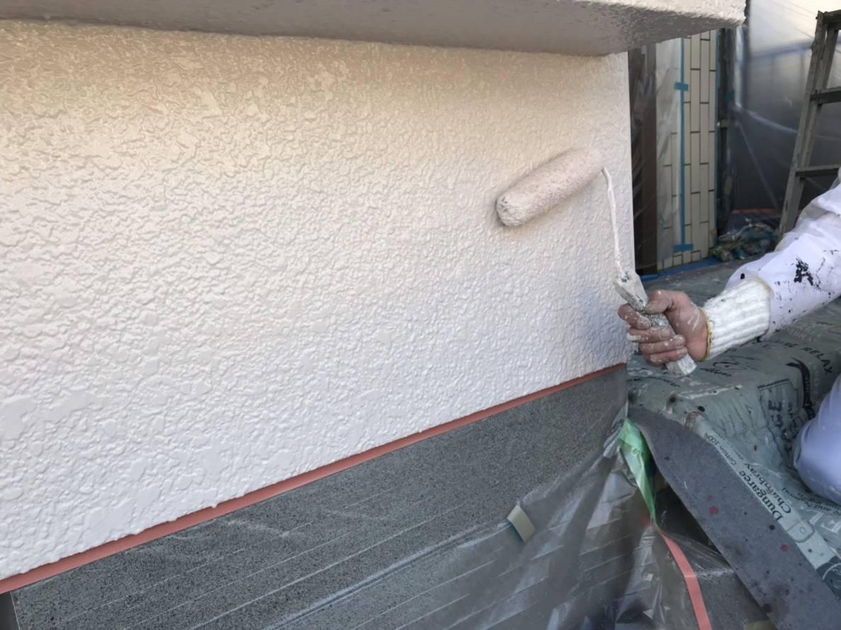 東面外壁塗装