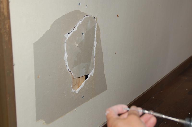 石膏ボード補修