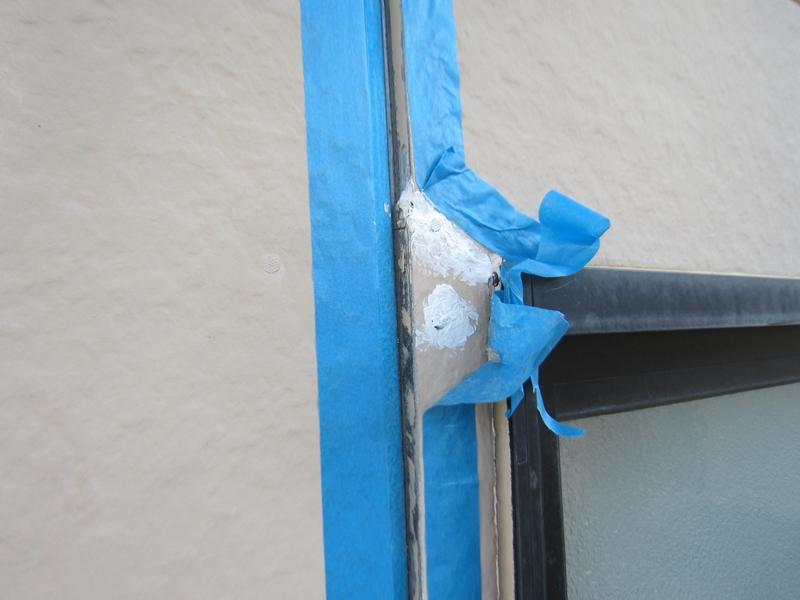 外壁亀裂補修