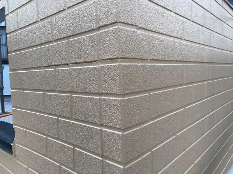 1階サイディング外壁塗装完了