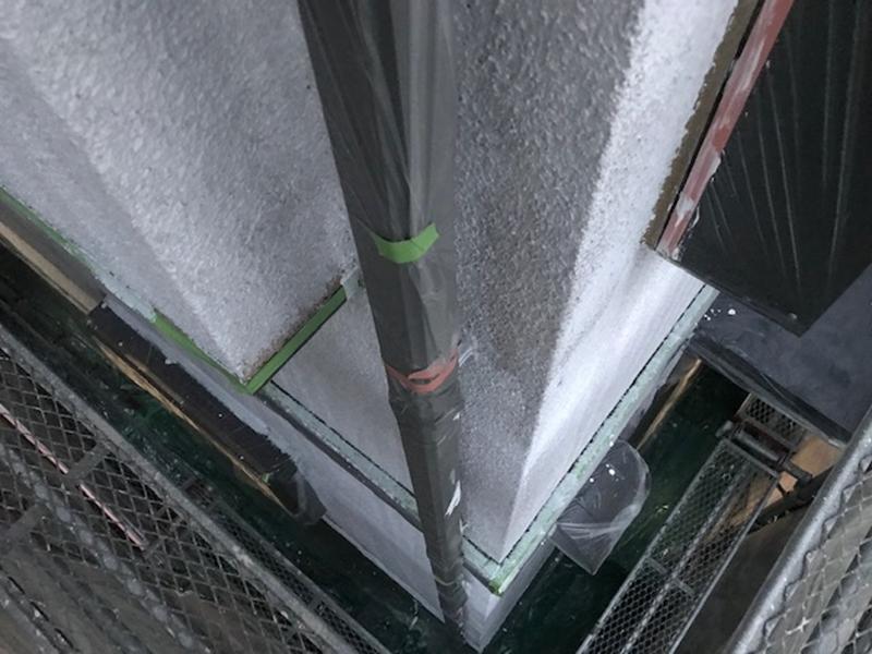 さいたま市でモルタル外壁下塗り